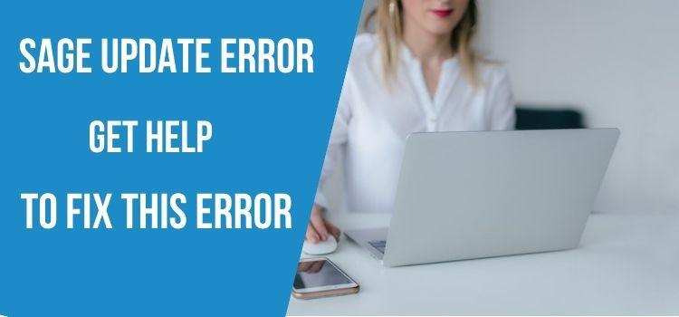 Sage Update Error
