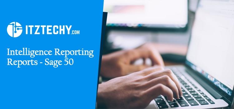 Sage 50 Intelligence Reporting
